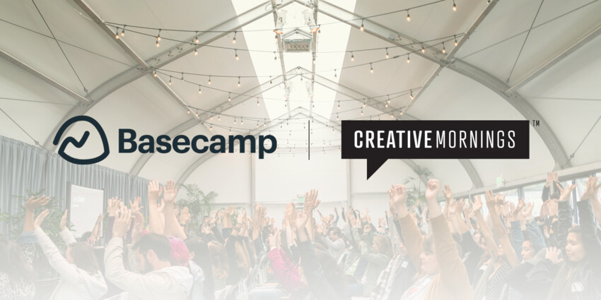 Basecamp Joins the CreativeMornings Family
