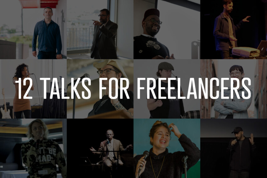 Self-Care to Contracts: 12 Talks For Freelancers
