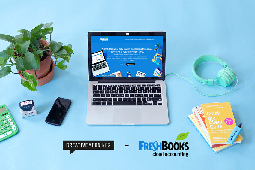 FreshBooks and CreativeMornings