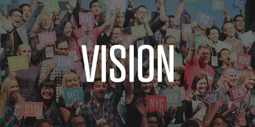 The Vision for CreativeMornings
