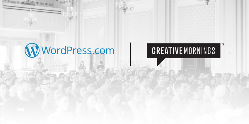 WordPress.com Joins the CreativeMornings Family