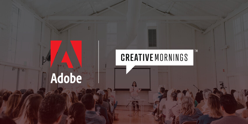 Adobe Joins the CreativeMornings Family