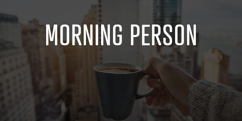 Morning Person: Victoria Threadgould