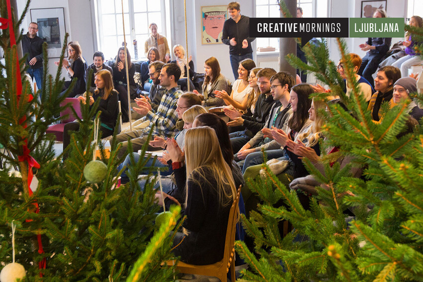 Happy Holidays from CreativeMornings!