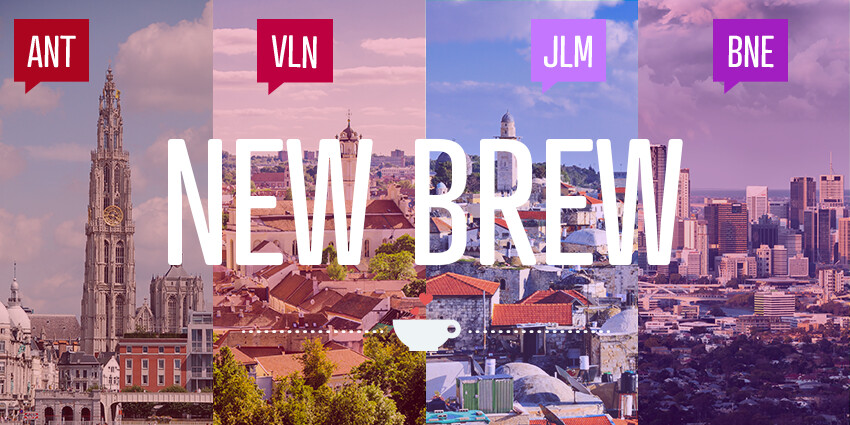 New organizers in Antwerp, Vilnius, Jerusalem, and Brisbane!