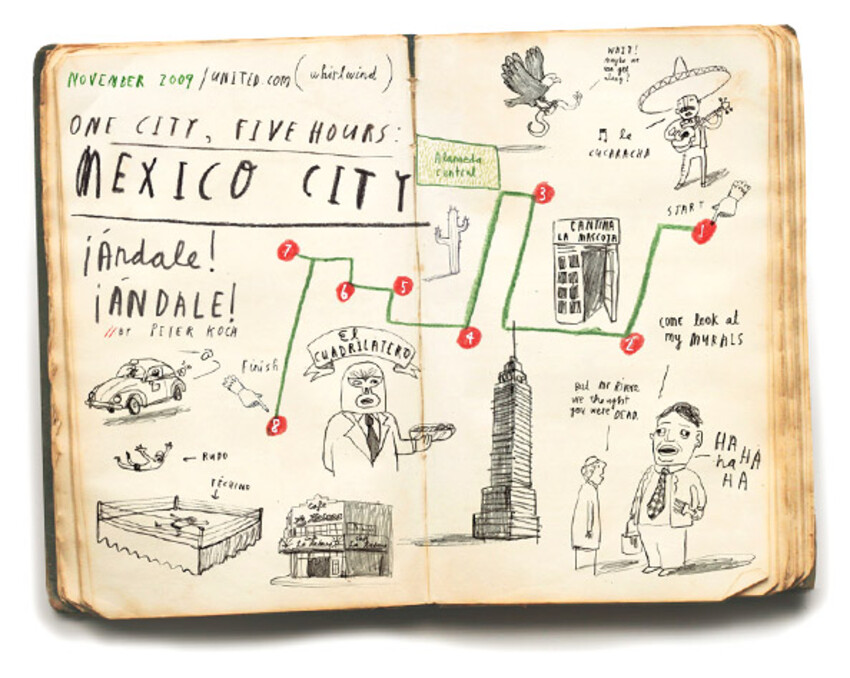 Oliver Jeffers' City Guides